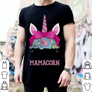 Premium Mamacorn Unicorn Mama Cute Birthday Mothers Day Gift For Mom shirt