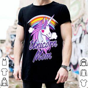Premium Unicorn Mom Cute Unicorn Birthday Mother's Day Women Gifts shirt