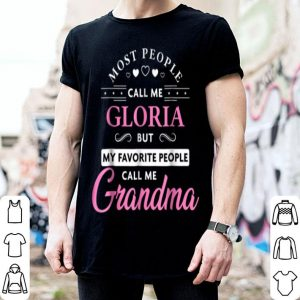 Pretty Gloria Name Grandma - Personalized Mothers Day Gift shirt