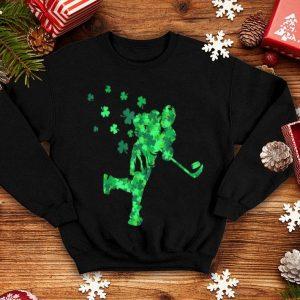 Pretty Irish Hockey Player Shamrock St Patrick's Day Gift shirt
