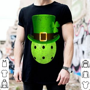 Pretty Pickleball Lover Leprechaun Hat Pickleball St. Patrick's Day shirt