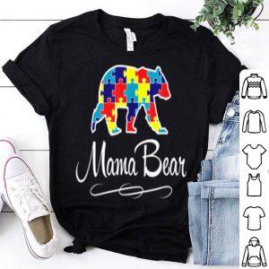 Top Autism Mama Bear shirt