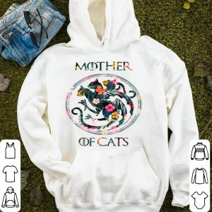 Top Cat Lovers - Mother Of Cats Mix Flower shirt