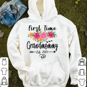 Top First Time Grandmommy Est 2020 Mother's Day New Grandmommy shirt