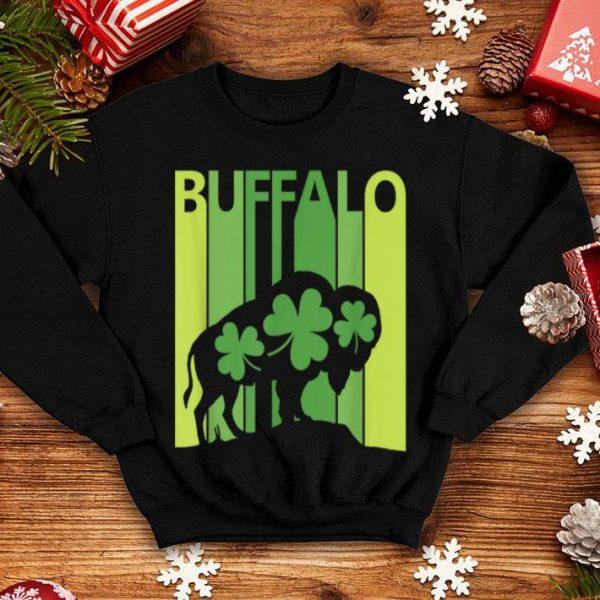 Top Lucky Buffalo Animal St Patrick's Day Irish Gift shirt