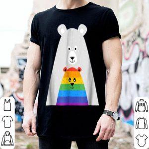 Top Mama And Baby Bear Gay Pride Gift Lgbt Lesbian March shirt