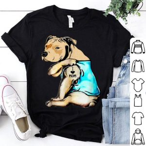 Top Original Pit Bull - I Love Mom Tattoo Mother's Day Gift shirt