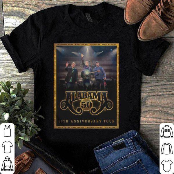 Alabama Band 50th Anniversary Tour 2019 shirt