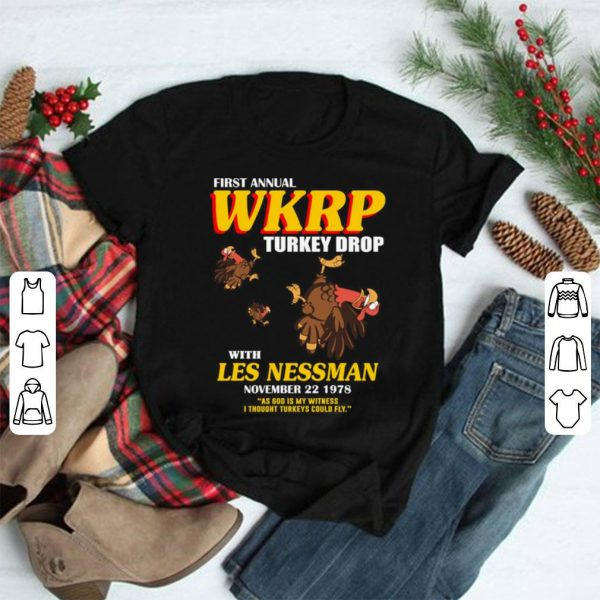 First Annual WKRP shirt