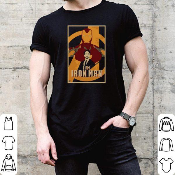 I am Iron man Tony Stark shirt