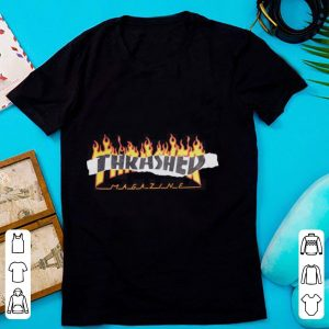 Thrasher Magazine Richter fire shirt
