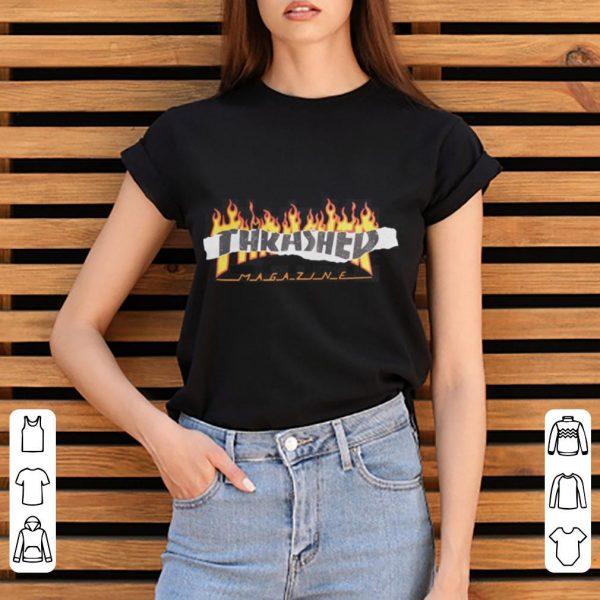 Thrasher Magazine Richter fire shirt