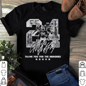 24 Marshawn Lynch thank you for the memories shirt