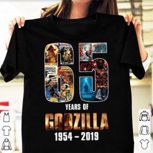 65th Years of Godzilla 1954-2019 Thanks For Memories shirt