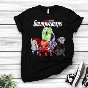 Goldenvengers Golden Retriever dog Fathers Day shirt
