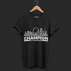St. Louis Blues Champion Fabbri Coreau BinningtonTarasenko shirt
