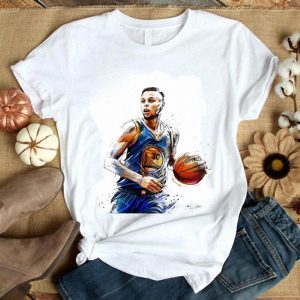 30 Stephen Curry Golden State Warriors Artists Shirt