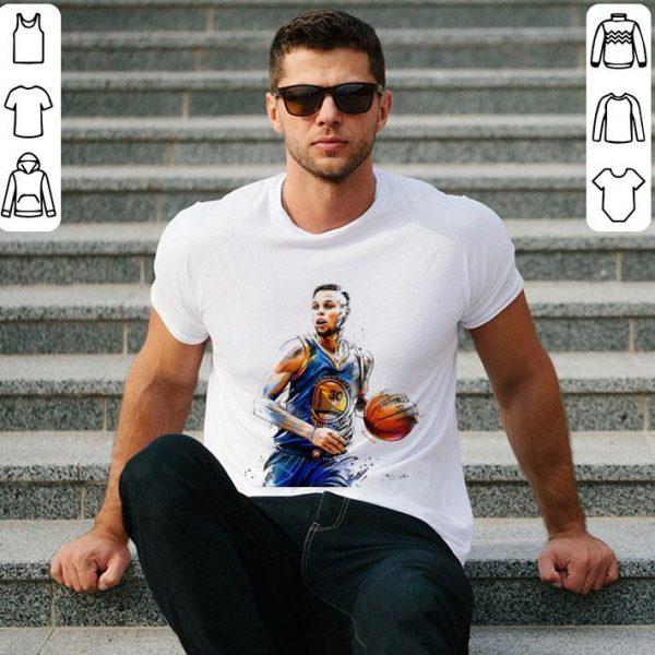 30 Stephen Curry Golden State Warriors Artists Shirt