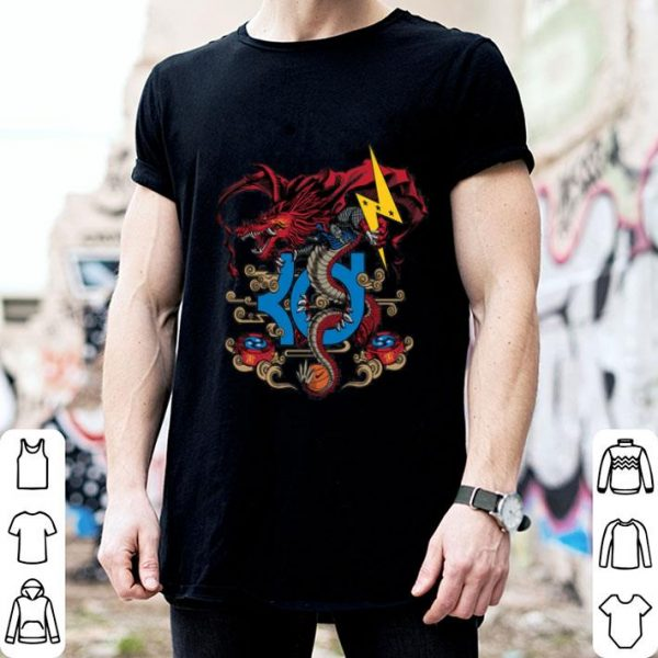 3D Drragon Thunder Shirt