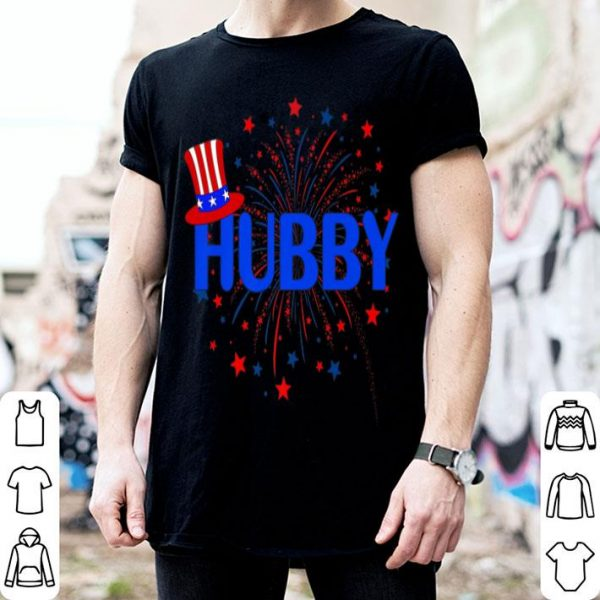 4th July Hubby Patriotic Couple shirt