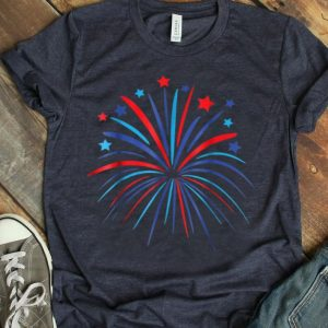 4th Of July Fireworks Happy Independence Day Shirt