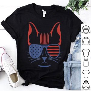 American Patriotic Symbol 4th July American Flag Tee Shirt