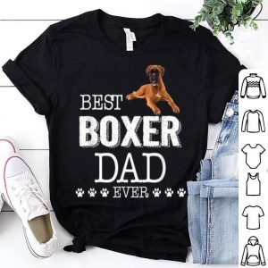 Boxer Dad Father's Day Gift Shirt