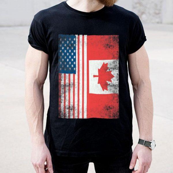 Canada American Canadian Flag 4th Julys shirt