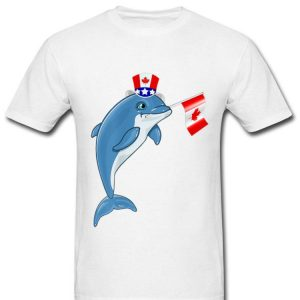 Canada - Maple Leaf Dolphin Canadian Flag Shirt