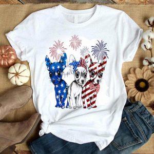Chiwuawa American Flag Shirt