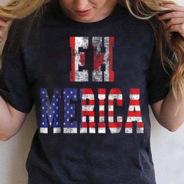 Ehmerica Tee - Vintage Funny Canadian American shirt
