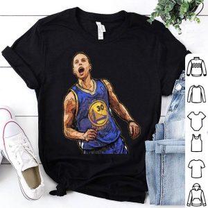 Stephen Curry Art Golden State Warrios #30 Shirt