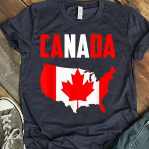 Vintage Canada Flag Canada Day Shirt
