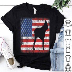 Vintage Retro American Flag Cane Corso shirt
