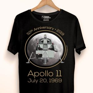 50th Anniversary Apollo 11 Moon Landing First Step On The Moon shirt