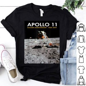 Apollo 11 50th Anniversary Eagle Landed on Moon Tee shirt