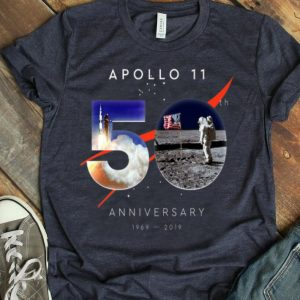 Apollo 11 50th Anniversary First Step On The Moon Moon Landing July 20, 1969 Giant Leap shirt