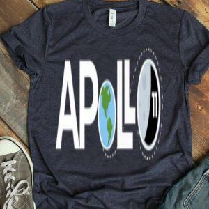 Apollo 11 50th Anniversary Moon Lunar Landing 1969 2019 Giant Leap Humankind shirt