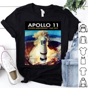 Apollo 11 50th Anniversary Saturn V 39A Launch Tee shirt