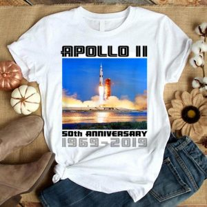 Apollo 11 50th Anniversary Saturn V Liftoff shirt