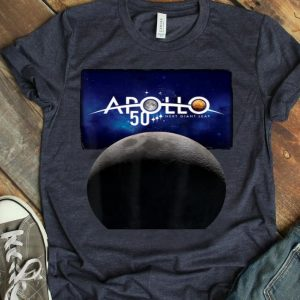 Apollo XI 50th Anniversary NASA Apollo 11 Moon shirt