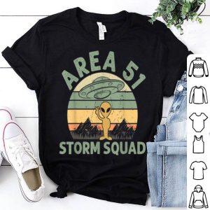 Area 51 Storm Squad UFO Abduction Vintage shirt