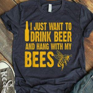 Beekeeper Beekeeping Drink Beer shirt