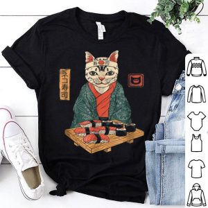 Cute Neko Sushi Bar shirt