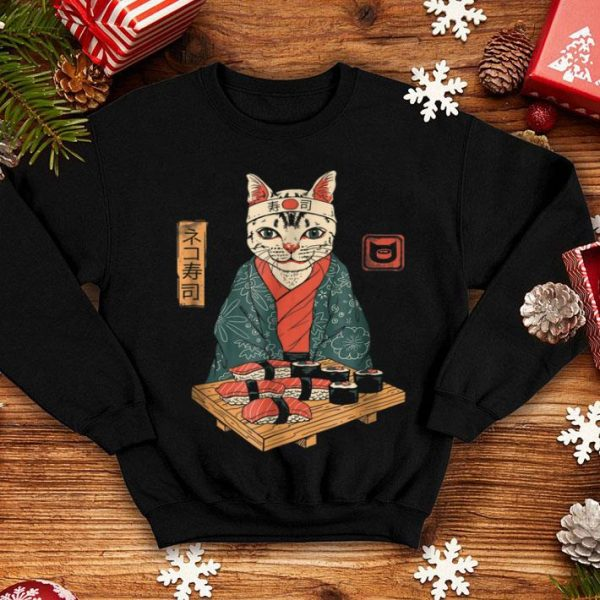 Cute Neko Sushi Bar shirt