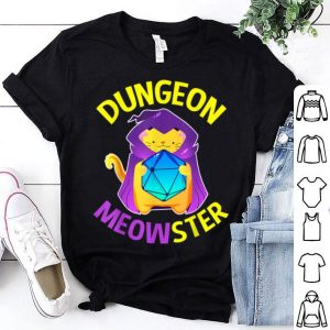 Dungeon Dragons And Catss For shirt
