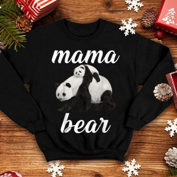 Great Graphic Design Panda Mama Bear Mother Day shirt