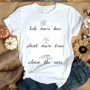 Help More Bees Plant More Trees Beekeeper shirt