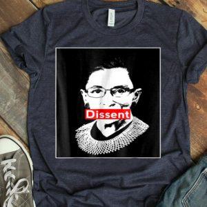 Ruth Bader Ginsburg Dissent Feminist Political shirt