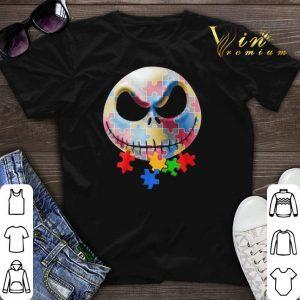 Autism Awareness Jack Skellington shirt